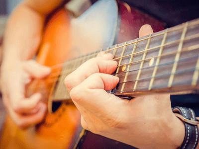 Guitarist-Hand